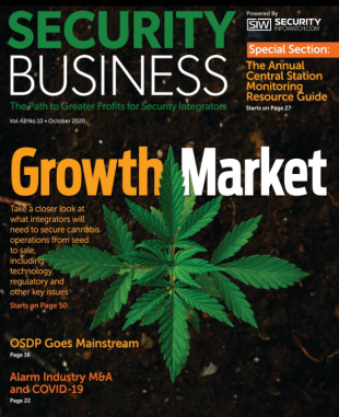 Cannabis Security 101 Cover Story